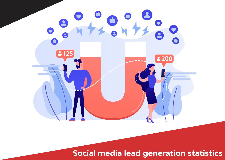 Social media lead generation statistics
