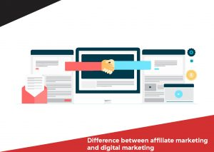 Difference between affiliate marketing